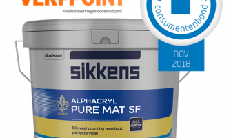 Sikkens Alphacryl Pure Mat SF - Beste muurverf uit de test!