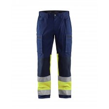 Blåkläder 1551 Werkbroek met Stretch High Vis