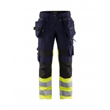Blåkläder 1994 High Vis Werkbroek met Stretch X1900