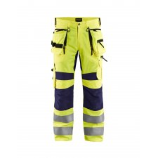 Blåkläder 1995 High Vis Werkbroek met Stretch