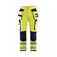 Blåkläder 1997 High Vis Werkbroek 4-weg Stretch