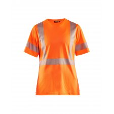 Blåkläder 3336 Dames T-Shirt High Vis