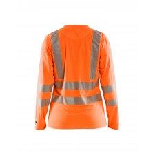 Blåkläder 3485 Dames T-Shirt lange mouw High Vis
