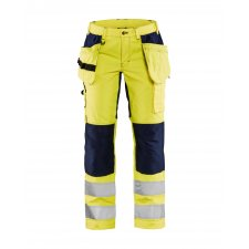 Blåkläder 7163 Dames Werkbroek High Vis met Stretch