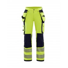 Blåkläder 7197 Dames High Vis 4-weg Stretch Werkbroek
