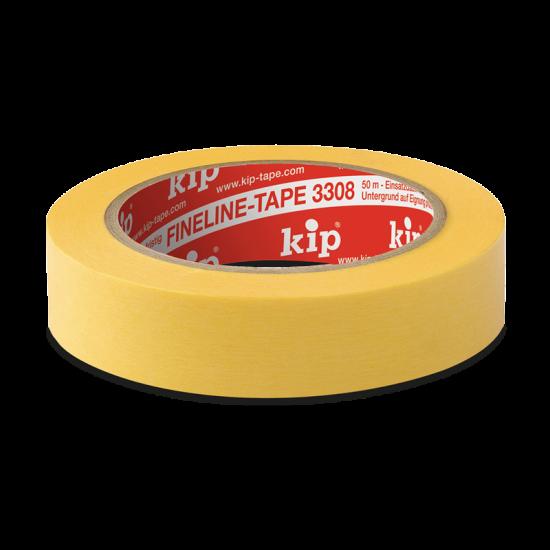 3308 Kip FineLine tape geel, voor scherpe lijnen. Vandaag besteld bij Verfpoint.nl, morgen in huis.