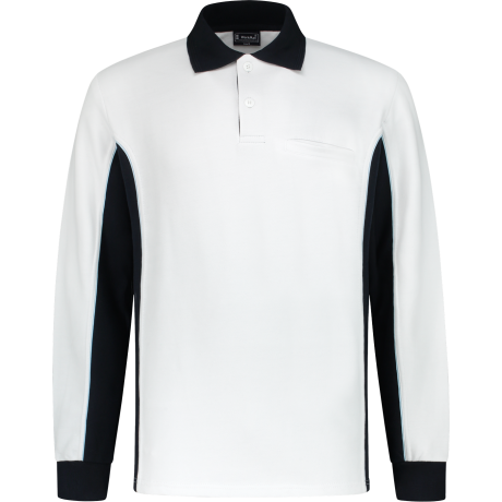 Workman Polosweater Bi-Colour - 2401