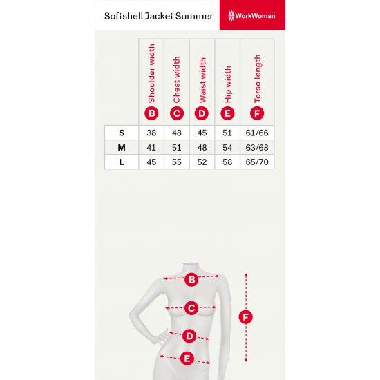 WorkWoman Softshell Jack - 25271